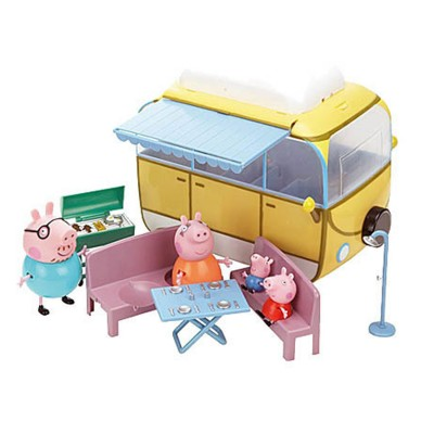 figurines peppa pig le camping car jeux et jouets giochi preziosi avenue des jeux. Black Bedroom Furniture Sets. Home Design Ideas