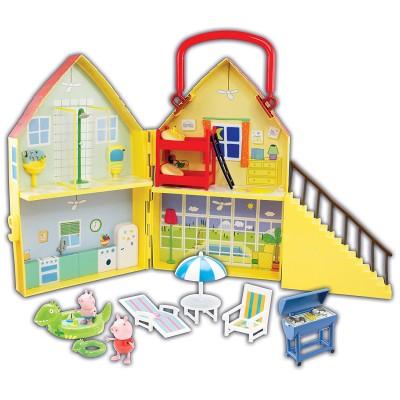 La villa de vacances de peppa pig 2 personnages jeux et jouets giochi preziosi avenue des jeux - Fusee peppa pig ...