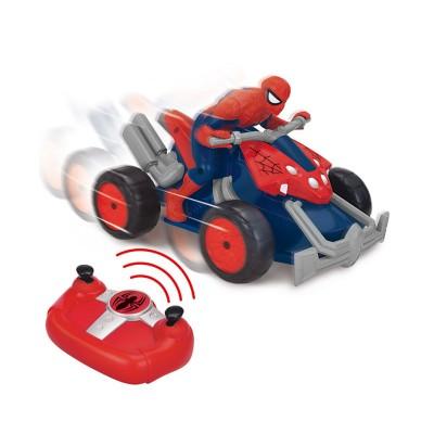 Moto quad radiocommand e spiderman jeux et jouets giochi - Moto spiderman jeux ...