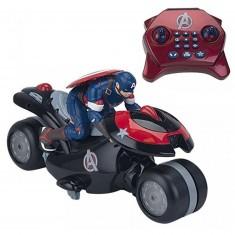 Moto radiocommandée Avengers : Capitain America