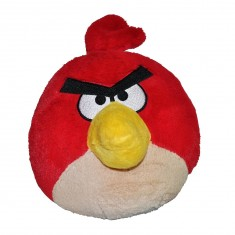 Peluche Angry Birds 30 cm : Oiseau rouge
