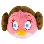 Peluche Angry Birds Star Wars 12 cm : Princesse Leia