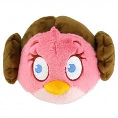 Peluche Angry Birds Star Wars 20 cm : Princesse Leia