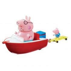 Peppa Pig en vacances : Bateau hors-bord et figurines