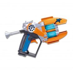Pistolet Slugterra : Blaster double canon + 3 Slugs projectiles