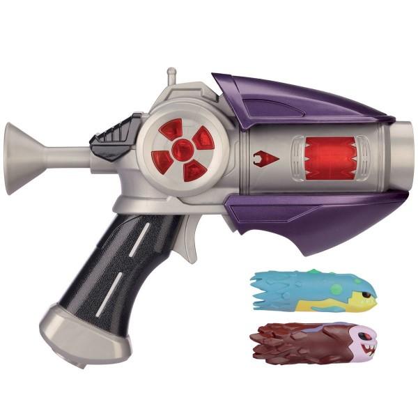 pistolet slugterra basic blaster avec 2 slugs gris