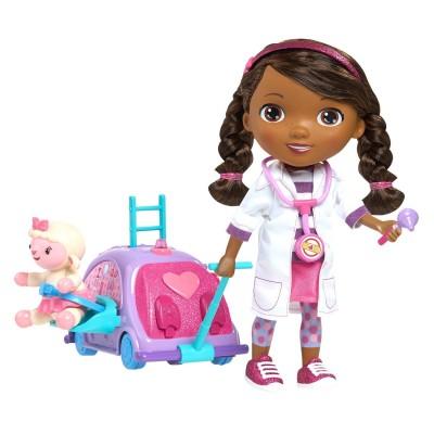 poup e interactive docteur la peluche et sa clinique mobile jeux et jouets giochi preziosi. Black Bedroom Furniture Sets. Home Design Ideas