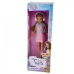 Poupée Violetta : Robe rose pale