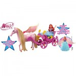 Poupée Winx Bloom Fairy Dream : Bloom dans son carrosse magique