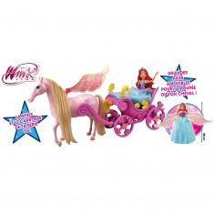 Poupée Winx Bloom Fairy Dream : Bloom dans son carrosse magique