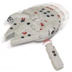 Vaisseau avec télécommande infrarouge Star Wars : Faucon Millenium