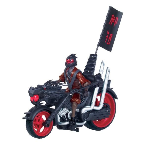Véhicule avec figurine 12 cm Tortues Ninja : Dragon Chopper - Giochi-5463-Dragon