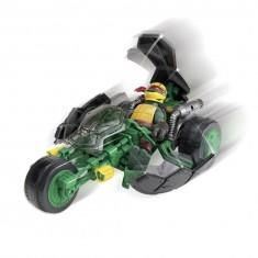 Véhicule avec figurine 12 cm Tortues Ninja : Ninja Stealth Bike