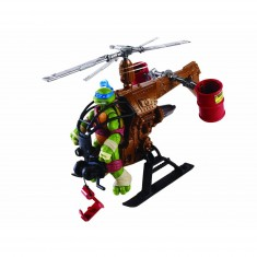 Véhicule pour figurine Tortues Ninja : Dropcopter