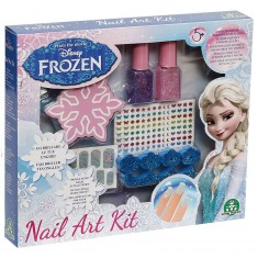 Vernis à ongles : Nail Art kit La Reine des Neiges (Frozen)