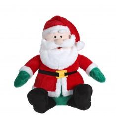Peluche Père Noël 80 cm
