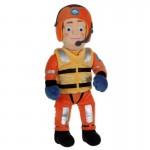 Peluche Sam le Pompier en tenue de secouriste 20 cm