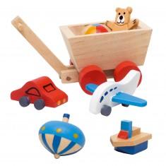 Maison de poupées : Accessoires pour chambre d'enfant