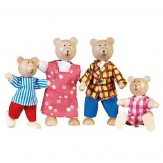 Maison de poupées : Famille ours