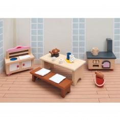 Maison de Poupées : Mobilier pour Château rose Goki : Cuisine