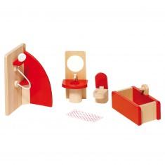Maison de poupées : Mobilier salle de bain