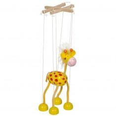 Marionnette à fils : Girafe