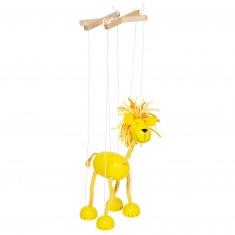Marionnette à fils : Lion