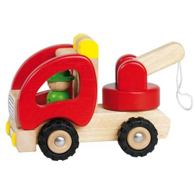 v hicule en bois goki d panneuse jeux et jouets goki avenue des jeux. Black Bedroom Furniture Sets. Home Design Ideas