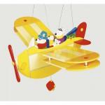 Mobile en bois Holidays Airlines : Ours en voyage