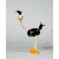 Marionnette articulée Autruche
