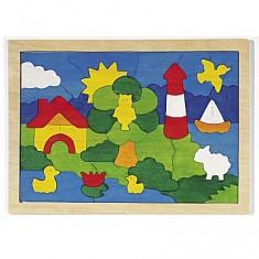 Puzzle 52 pièces : Phare
