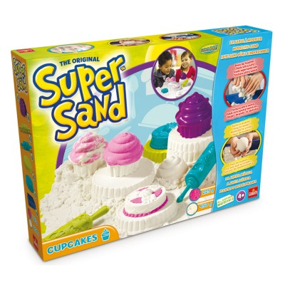 moulage super sand cupcakes jeux et jouets goliath. Black Bedroom Furniture Sets. Home Design Ideas