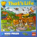 Puzzle 1000 pièces That's Life : A la ferme
