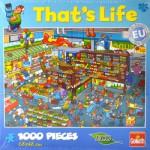 Puzzle 1000 pièces That's Life : Au magasin