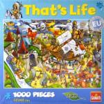 Puzzle 1000 pièces That's Life : Parc d'attractions