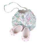 Accessoires pour poupée de 46 à 50 cm : Chaussures et sac à main