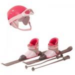 Accessoires pour poupées de 45 cm : Set de ski