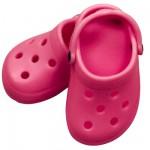 Chaussures dollocs roses pour poupée 42 à 50 cm