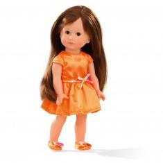 Poupée Just Like Me 27 cm : Giuseppina robe orange