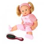 Poupée Maxy Muffin 42 cm cheveux blonds avec tenue rose et brosse