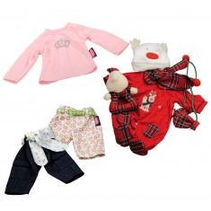 Vêtement pour poupée de 42 à 46 cm : Coffret Noël