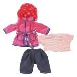 Vêtement pour poupée de 42 à 46 cm : Ensemble de pluie