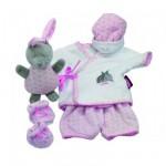 Vêtements pour poupée de 30-33 cm : Vêtement avec motif lapin