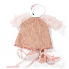 Vêtements pour poupée de 45 à 50 cm : Robe, sac et chaussures