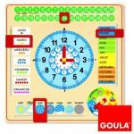 Calendrier-horloge