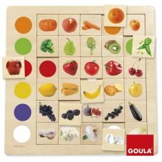 Jeu éducatif Association couleurs-fruits