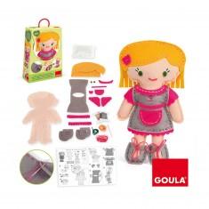 Kit de couture : Couds ta poupée : Bibi
