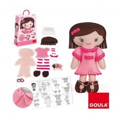 Kit de couture : Couds ta poupée : Camille