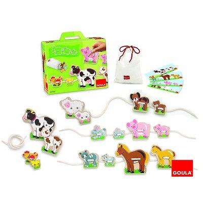 la age animaux de la ferme mamans et b b s jeux et jouets goula avenue des jeux. Black Bedroom Furniture Sets. Home Design Ideas