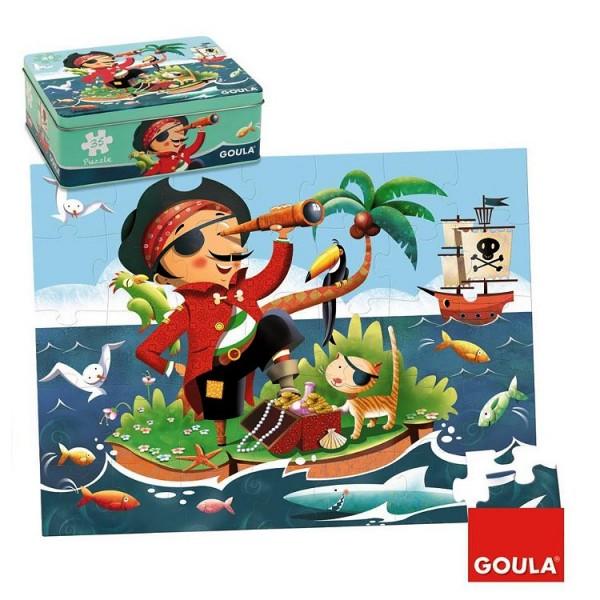 Puzzle 35 pièces : Pirate - Diset-Goula-53431